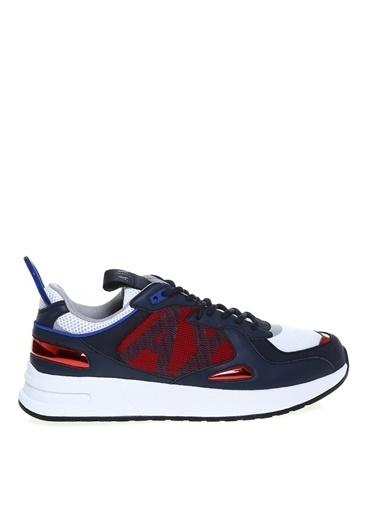 Armani Exchange Armani Exchange Erkek Lacivert-Kırmızı Sneaker Lacivert